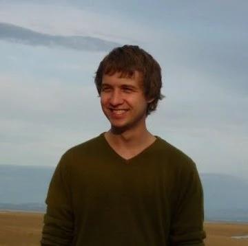 Mike on a beach